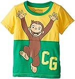 Curious George Little Boys' Toddler Short Sleeve T-Shirt, Yellow/Green, 2T