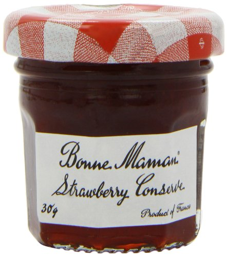 Bonne Maman Strawberry Conserve 30 g (Pack of 60)