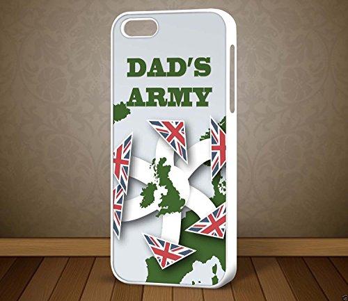 Dad's Army D1Carte Don't Panic–pour iPhone et Samsung Téléphone cas (Blanc Galaxy S6)