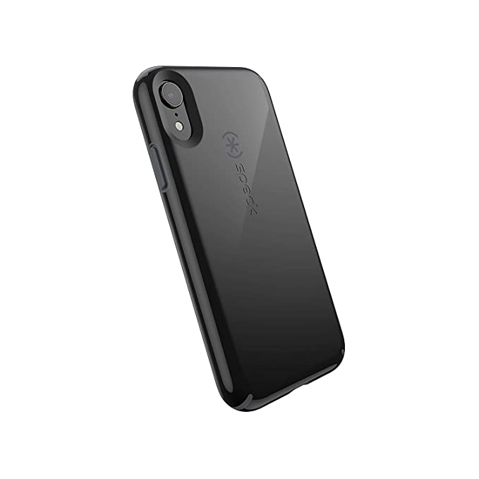 big sale 2b3d5 09a84 Speck Products CandyShell iPhone XR Case, Black/Slate Grey