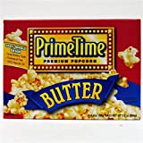 Prime Time Butter Microwave Popcorn 3pk - Case Pack 12 SKU-PAS633898