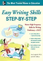 Easy Writing Skills Step-by-Step Front Cover