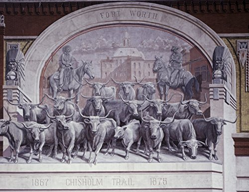 Fort Worth, TX Photo - Chisholm Trail mural, located in Sundance Square, Fort Worth, Texas - Carol - Worth Fort Tx Sundance