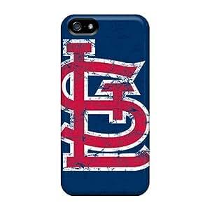 New Tpu Hard Case Premium Iphone 5/5s Skin Case Cover(st. Louis Cardinals)