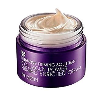 ce22fda16ed Amazon.com : Mizon Collagen Power Firming Enriched Cream - Intensive Firming  Solution : Beauty