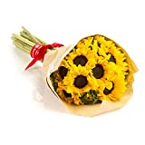 Sunflowers Hand-tied Bouquet- No Vase