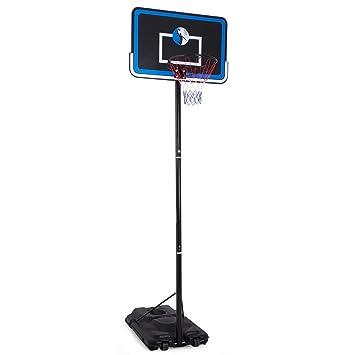 Altura ajustable portátil sistema de baloncesto aro soporte - por ...