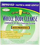 Enzymatic Therapy Whole Body Cleanse Kit with Probiotics, Lemon flavored