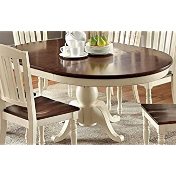 modern oval dining table for 8 furniture cottage style white black and chairs