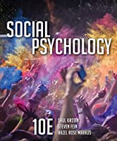 Social Psychology, 10th Edition Front Cover