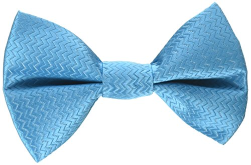 Tino's Dog Couture Acqua Removable Bowtie, Medium, (Removable Bow)