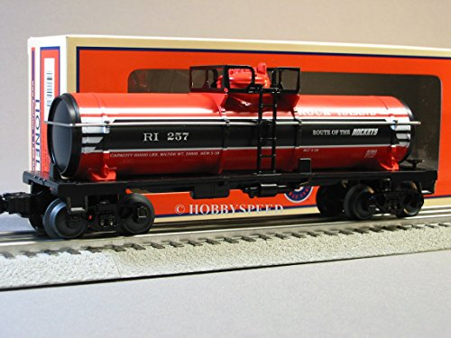 O Gauge Rolling Stock (LIONEL ROCK ISLAND SINGLE DOME TANK CAR 257 6-81028 o gauge tanker 6-81663)