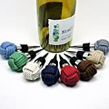 Nautical Woven Knot Wine Bottle Stopper