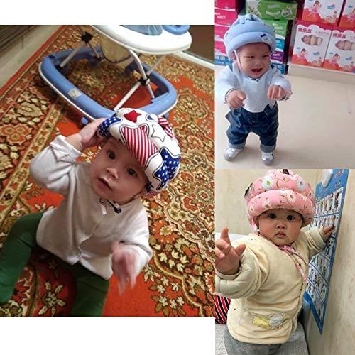 Baby Head Helmets with New Design 2019, Cute Adjustable Kid Head Protector Pad Baby - Baby Head Holder, Head Baby, Kids Head, Infant Head, Safety Hat Baby, Shampoo Eye Shield, Head Protect, Baby Head