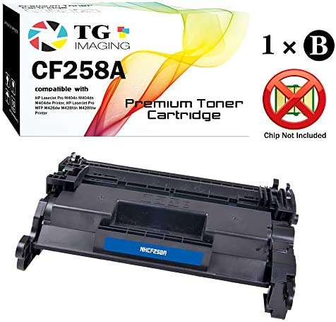(1-Pack) TG Imaging Compatible 58A CF258A Toner Cartridge fo