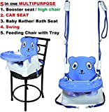Variety Gift Centre Baby Booster Seat/Swing (Multipurpose Kids Feeding High Chair)