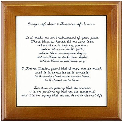 3dRose ft 110280 1 Framed Francis Assisi Spirituality Religion