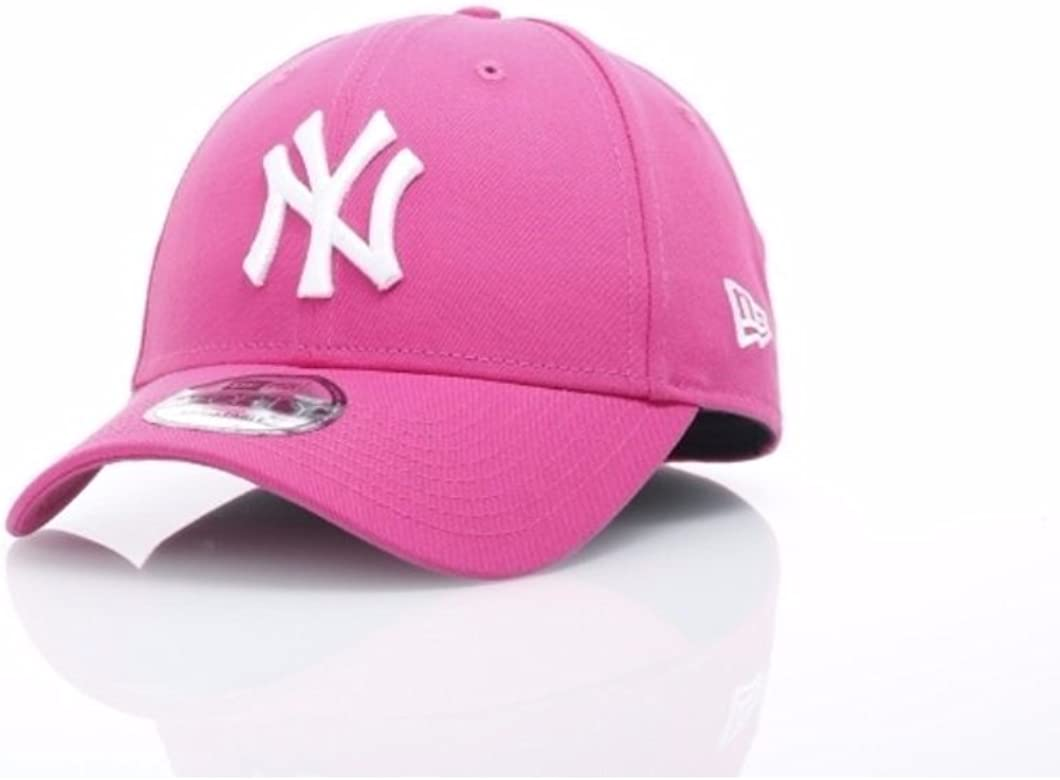 A NEW ERA Gorra 9forty MLB York Yankees Brights Rosa/Blanco Talla ...