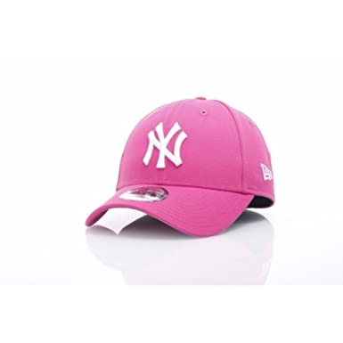 Gorra New Era - 9forty Mlb New York Yankees Brights rosa/blanco talla: Ajustable: Amazon.es: Ropa y accesorios