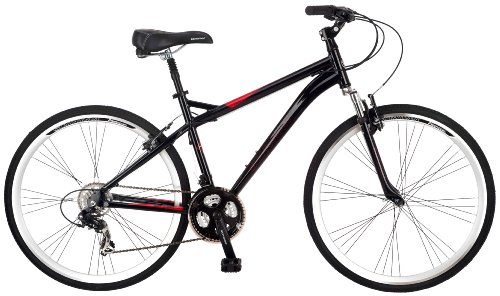 Our Choice for the #1 Best Hybrid Bike Overall: Schwinn Men's Siro Hybrid Bicycle