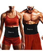 Waist Trimmer, FREETOO Waist Trainer for Weight Loss Women Waist Trimmer for Fat Burning Waist Training Belt, Lightweight and Comfortable,Suitable for Fitness,Training,Running,for Men and Women