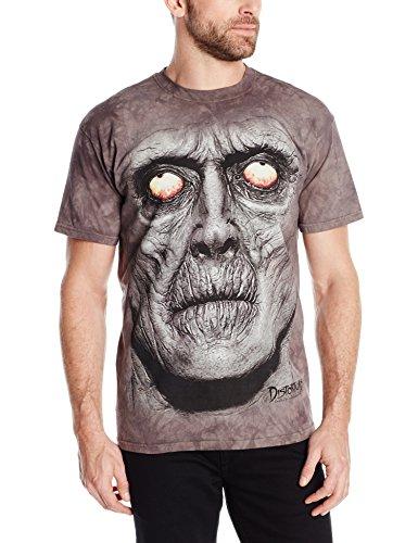 The Mountain Zombie Portrait T-Shirt, 3X-Large, Gray