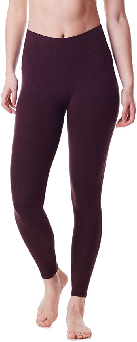Green Apple Maya Bamboo Legging Womens Active Organic Yoga Leggings