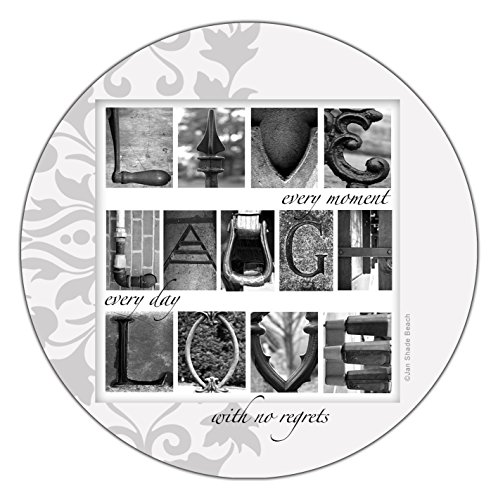 Thirstystone Occasions Stoneware Drink Coasters, Live, Laugh, Love