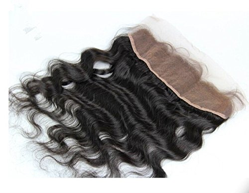 DaJun Hair 6A 13''*4'' Lace Frontal Closure European Virgin Human Hair Body Wave Natural Colour (trademark:DaJun) by DaJun