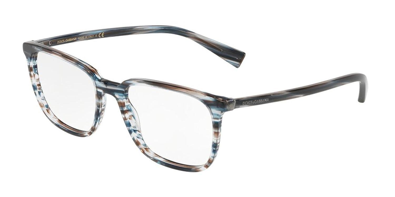Eyeglasses Dolce /& Gabbana DG 3298 3188 STRIPED BLUE