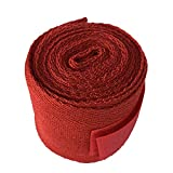 Potelin Boxing Bandage 2.5M Cotton Boxing Handwraps Bandages Punching Hand Tape Armguard Boxing Red