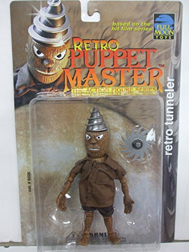 Full Moon Toys - Puppet Master RETRO TUNNELER with brown Coat Action Figure - Puppet Master Tunneler