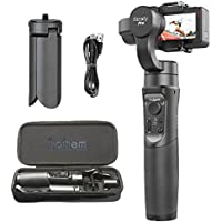 Hohem iSteady Pro 3-Axis Handheld Gimbal Stabilizer, 12h Run-Time, APP Controls for Auto Panoramas, Time-Lapse & Tracking for Gopro Hero 6/5/4/3, Yi Cam 4K, AEE, SJCAM Sports Cams (iSteady Pro)