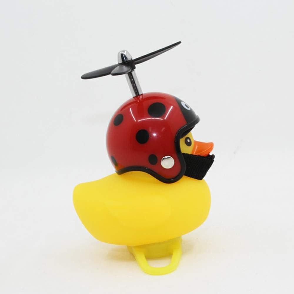 FairytaleMM Cartoon Little Yellow Duck Bike Bells Convient pour Pliant V/élo VTT V/élo Corne Loud Sound Accessoires De V/élo Bell Ring