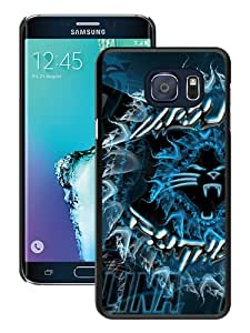 Fashionable Samsung Galaxy S6 Edge+ Case ,Unique And Popular Designed Case With Carolina Panthers 33 Black Samsung Galaxy S6 Edge Plus Great Quality Screen Case