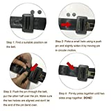 Y-Axis Seat Belt Button Buckle Clip Stop