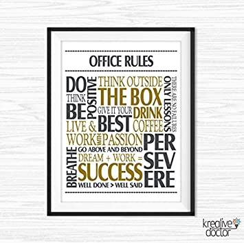 Beau Office Wall Art Motivational Wall Decor Inspirational Quote Success Quotes  Printable Office Quotes Poster Sayings Canvas