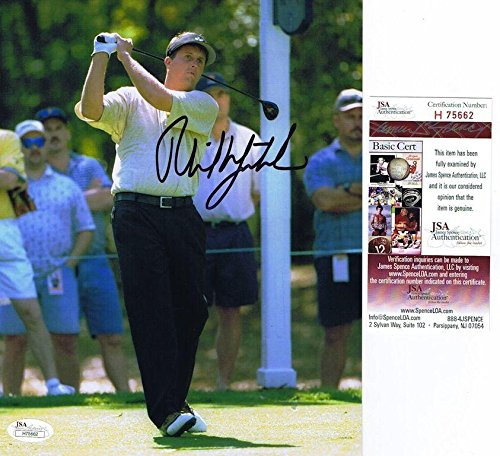 Phil Mickelson Autographed Photo - MASTERS 8x10#H75662 - JSA Certified - Autographed Golf Photos (Photo Certified Golf Autograph 8x10)