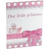 baby memory books for girls | Pink Keepsake Journal...