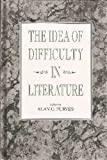 The Idea of Difficulty in Literature, , 0791406733