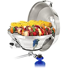 Magma Products, A10-217-3 Marine Kettle 3, A10-217-3, Combination Stove & Gas Grill, Propane Portable Oven, Party Size 17""