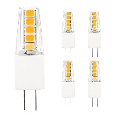 Lianqi G4 Bombilla LED, 2 W, CA/CC, 12 V, 150