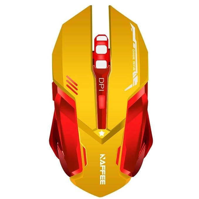 46 opinioni per extrafind x96 batteria wireless gaming mouse ottico mouse retroilluminato Click