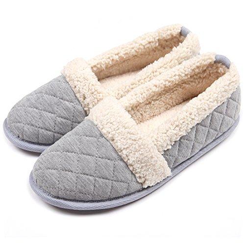 59ef69c390e Chicnchic women cozy cotton plush soft sole indoor slippers anti slip house  shoes jpg 500x500 Home