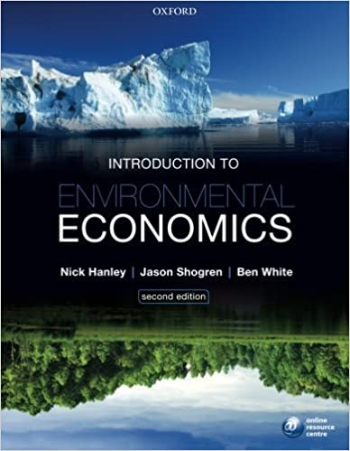 Book Introduction to Environmental Economics by Nick Hanley (April 05,2013)