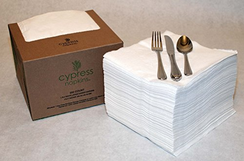 (Cypress Napkins- 250 Large Dinner Napkins)