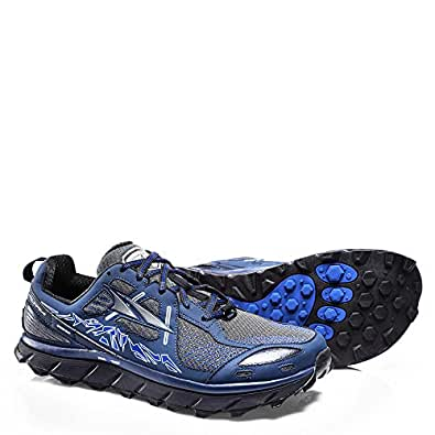 Altra Men's Lone Peak 3.5 Running-Shoes, Blue, 10 D US