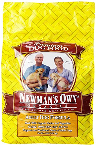 Newman's Own Organics Adult Healthy Dog Formula, Organic 4 lb (Pack of 6)