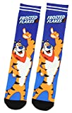 Kellogg's Frosted Flakes Cereal Tony The Tiger Sublimated Crew Socks 1 Pair