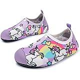 L-RUN Kids Swim Shoes Boys Girls Outdoor Walking Shoes Pool Shoes Horse 2.5-3.5=EU34-35